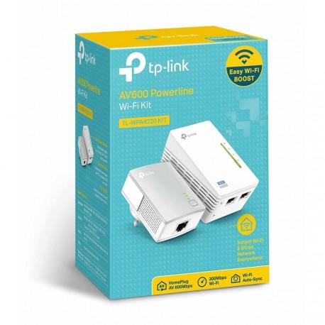 TP-LINK TL-WPA4220KIT Kit Estensore Powerline WiFi PLC AV500