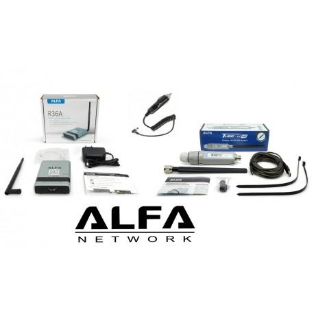 Kit für 4G im haus oder wohnmobil Alpha 4G-Camp-Pro-2