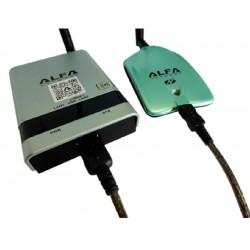 Kit mini WiFi Camp Pro 2 di Alfa network interno