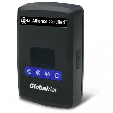 GlobalSat LT-100H GPS Tracker LoRaWAN Antena Pi-Fa incorporada