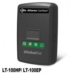 GlobalSat LT-100HP Rastreador GPS compatible con LoRaWAN aviso de caída