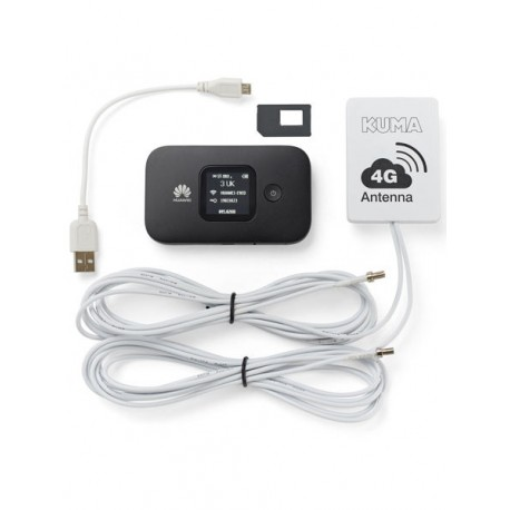 Kuma 4G WiFi pour motorhome et camping-cars Mobile Pocket Kit