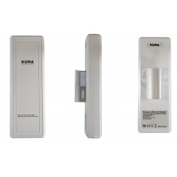 KUMA antena WiFi USB direccional para caravana 1,5 km alcance