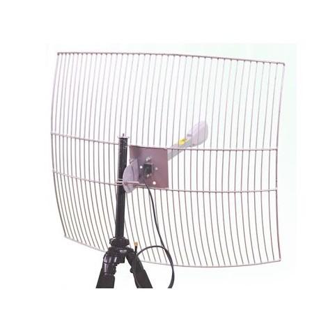 Antena Parabolica WiFi 24dbi grade Interline G-24-F2425-HV 2.4
