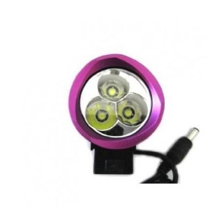 Set Trustfire® 3x CREE XML T6 LED Bicycle Headlight 4 Modes