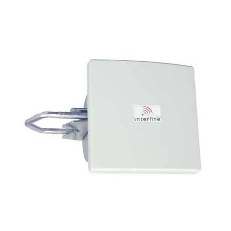 Antena PANEL 14dBi 5.8GHz directconal con conector N hembra