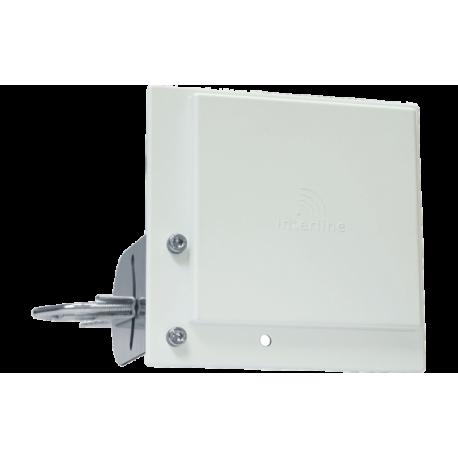 Antena wifi panel 14dBi 2.45GHz - direccional conector N hembra