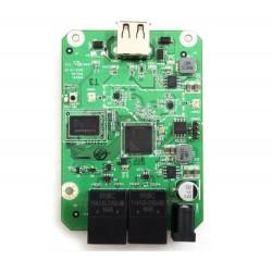 HoneyBee R36A PCBA da placa do roteador wi-fi Routerboard + host USB