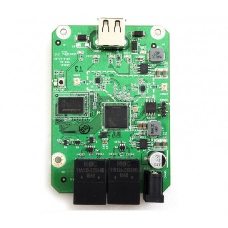 HoneyBee R36A PCBA placa router WiFi Routerboard + host USB