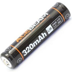 Batería Litio 10440 acebeam Li-ion Recargable para UC15, 3.7V