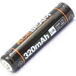 Batterie Lithium 10440 acebeam batterie Rechargeable Li-ion pour UC15, 3.7 V, 320mAh