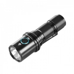 Flashlight IMALENT DM70 LED XHP70 with rechargeable battery by USB