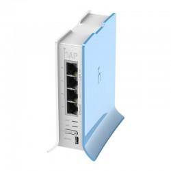 Punto de acceso WiFi Mikrotik RB / 9412NDTC hAP Lite 32MB RAM, 4x LAN, 2.4Ghz