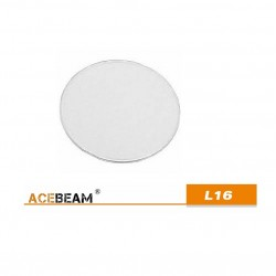 Cristal protector linterna Acebeam L16 reemplazo o reparar lente