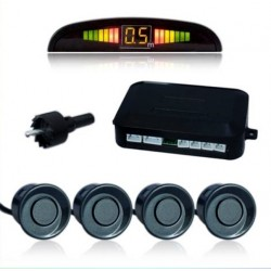 Radar de estacionamento sensor de estacionamento marcha atrás LCD LED alarme