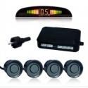 Radar de aparcamiento sensor parking marcha atras LCD LED alarma