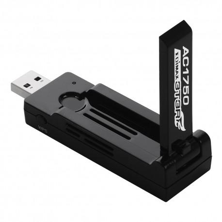 Edimax EW-7833UAC Placa de Rede sem fio USB velocidade 1750mbps AC1750