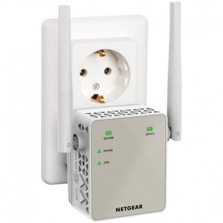 Extensor de rango WiFi AC 5ghz 2,4ghz Netgear EX6120-100PES Repetidor AC1200