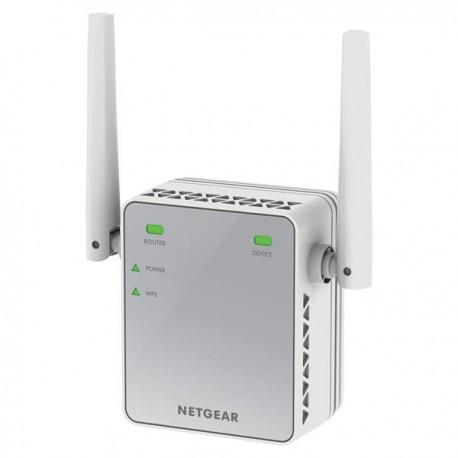 Extensor de rango WiFi Netgear N300 Repetidor de enchufe