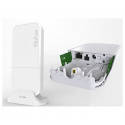 MikroTik wAP R (RBwAPR-2e) 64 mo de RAM, 1xLAN, intégré 2,4 Ghz 802.11 b/g/n