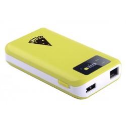 Roteador com bateria portátil Lítio 7800mAh Repetidor WIFI USB multimídia PW62