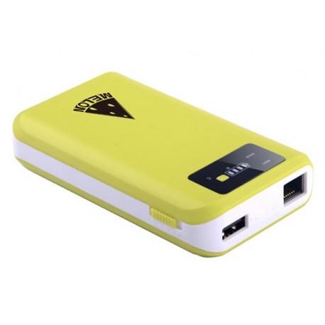 Roteador com bateria portátil Lítio 7800mAh Repetidor WIFI USB