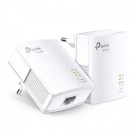 TP-LINK PLC Gigabit AV1000 Powerline starter Kit TL-PA7017KIT