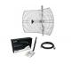 Pacote Antena WiFi Parabólica + Kit Rede Alfa AWUS036NHR 24dBi