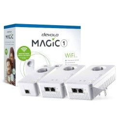 DEVOLO MAGIC 1 WIFI multi-sala KIT 2-1-3 PLC (Powerline REDES
