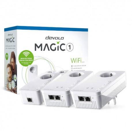 DEVOLO MAGIC 1 WIFI multi-sala KIT 2-1-3 PLC (Powerline REDES