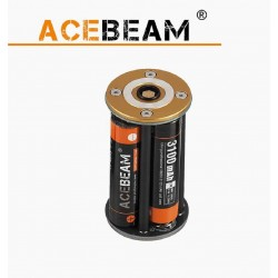 Carrier batteries for Flashlights Acebeam X80, X80-GT, K65, X45, K60,
