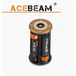Portador de pilhas para Lanternas Acebeam X80, X80-GT, K65, X45, K60