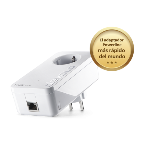 DEVOLO MAGIC 2 LAN 1-1-1 single PLC powerline 2400mbps