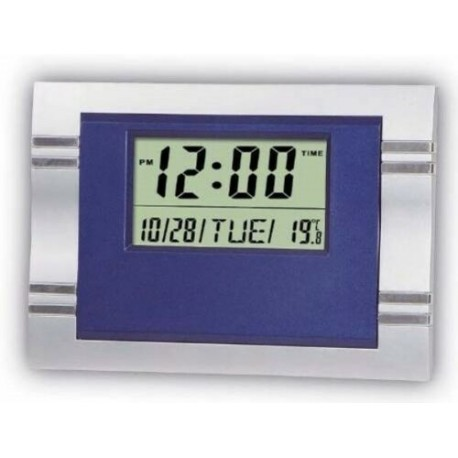 Watch Digital Large Numbers calendar kitchen table temperature