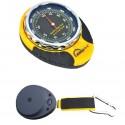 Altímetro com barômetro analógico