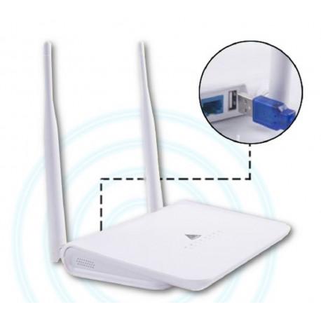 Routeur R658N répéteur WIFI via USB compatible N519D RTL8811AU