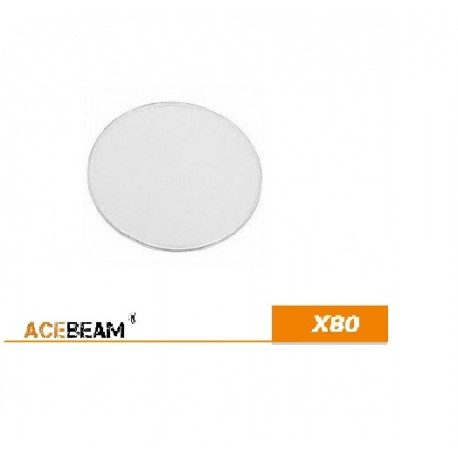 Acebeam X80 Replacement Flashlight Glass Lens Replacement