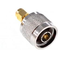 Anschlusskonverter RPSMA - N Macho Adaptador Antennen WiFi