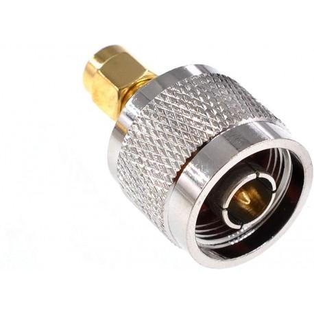Convertitore conettore RPSMA - N Macho adattore per antenne wifi
