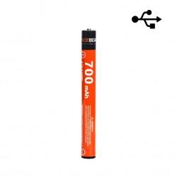 10900 ACEBEAM 700mAh Akku über Micro-USB-Kabel wiederaufladbar