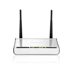 Tenda W300D ADSL2 + Modem Router WiFi 100 Mbps LAN 4 porte