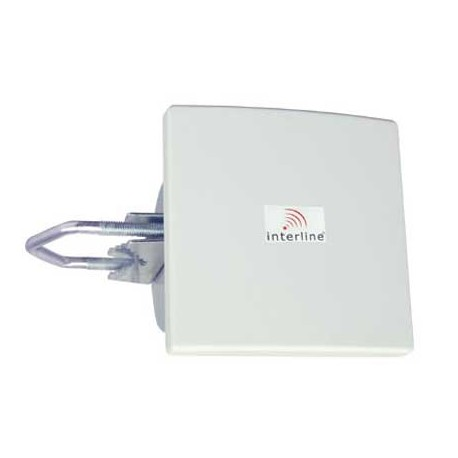 antena wi-fi nterline IP-G08-F2425-HV-N PAINEL 8dBi 2,4 GHz