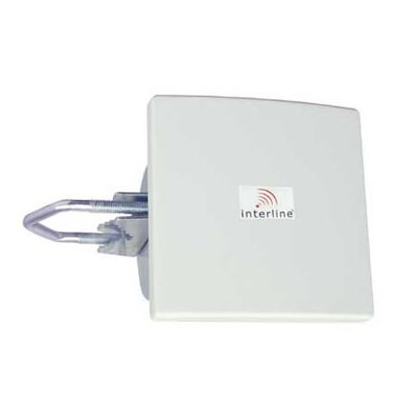 nterline IP-G08-F2425-HV-N wifi antenna PANEL 8dBi 2.4GHz