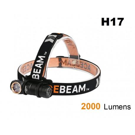 Acheter lampe frontale ACEBEAM H17 en forme de L