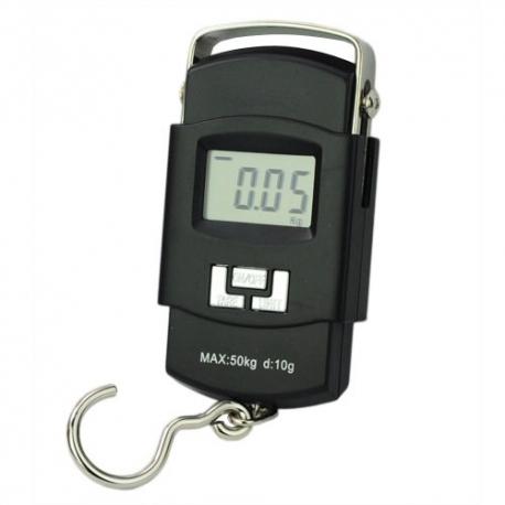 Bascula digital 50 KG balanza colgar equipaje dinamometro gancho