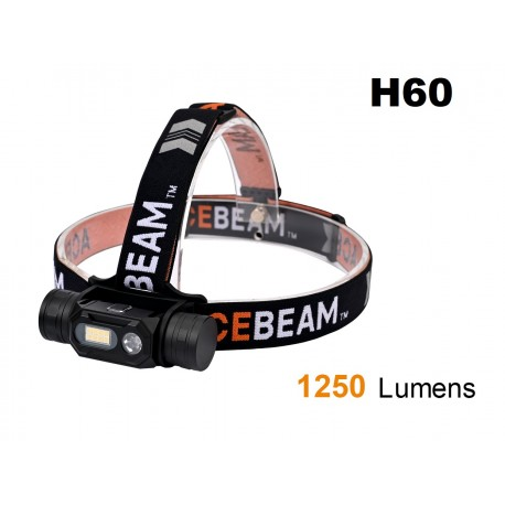 Comprar ACEBEAM H60 Linterna frontal SunLike 5000K CRI97
