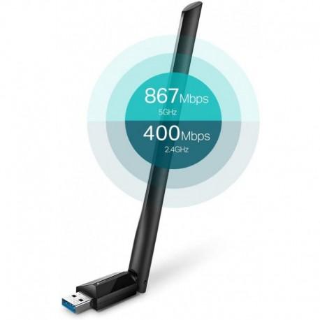TP-Link Archer T3U Plus WIFI USB de Banda Dual AC1300 nuevo 2021
