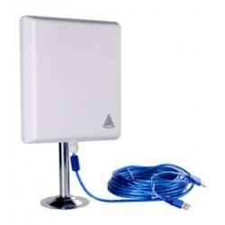 Adaptador de antena de painel WIFI Melon N4000 USB 10m 2W 2000mw 36dbi