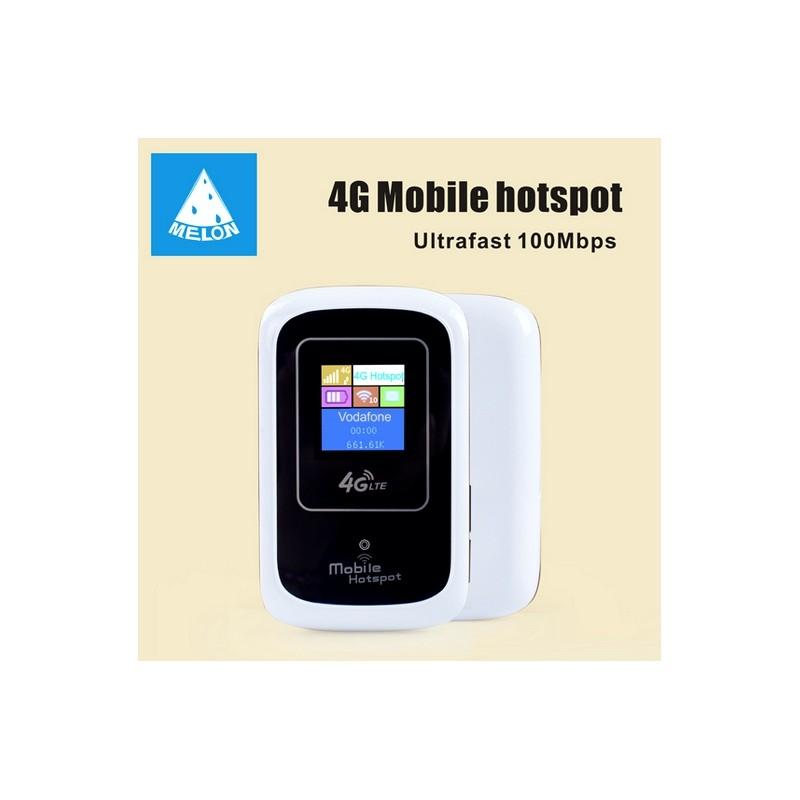 mobile hotspot 4g 3g lte melon lt10 wifi router unlocked 281. Black Bedroom Furniture Sets. Home Design Ideas