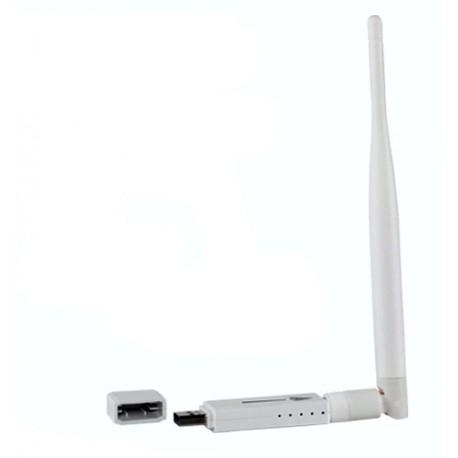 Antena WIFI USB chip RT3070 para PC o portátil Windows 10 compatible
